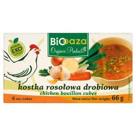 Biooaza Eko Kostka rosołowa drobiowa 66g (6szt) (1)