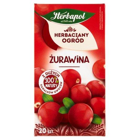 Herbapol Herbaciany Ogród Herbatka owocowo-ziołowa żurawina 50g (20 tb) (2)