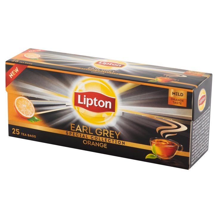 Lipton Earl Grey Orange Herbata czarna 35g (25 tb) (3)