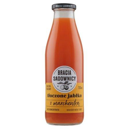 BRACIA SADOWNICY - sok jabłkowy + marchewka 750 ml (1)