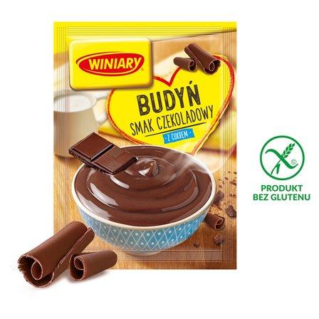 Winiary Budyń z cukrem smak czekoladowy 63g (1)