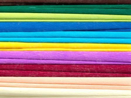 Bibuła marszczona, 25x200 cm, 10 rolek, 10 kolorów, miks C, Happy Color (1)