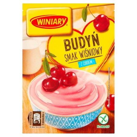 Winiary Budyń z cukrem smak wiśniowy 60g (2)