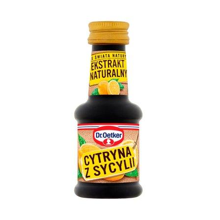 Dr. Oetker Ze świata natury Ekstrakt naturalny cytryna z Sycylii 30ml (1)