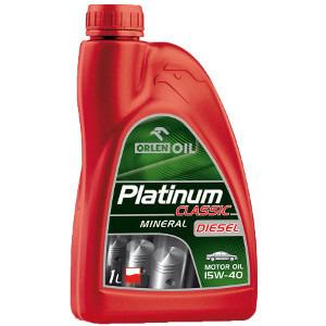 Orlen Oil Platinum Classic Diesel Mineralny olej silnikowy I5W-40 1l (1)