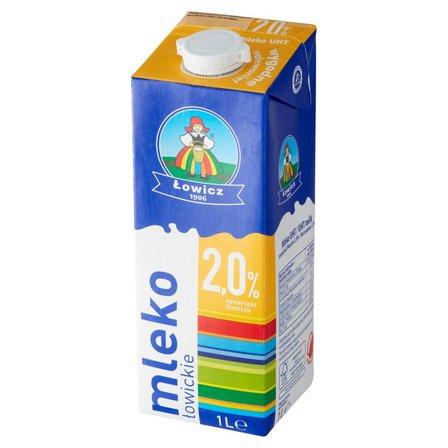 Łowicz Mleko łowickie UHT 2,0% 1l (1)