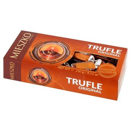 Mieszko Trufle Original Cukierki z rumem w czekoladzie 230g (1)