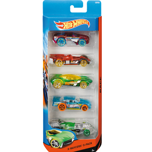 MATTLE Hot Wheels Samochody (1)