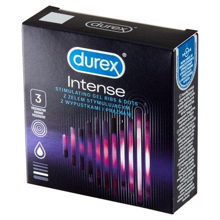 Durex Intense Prezerwatywy 3szt (1)