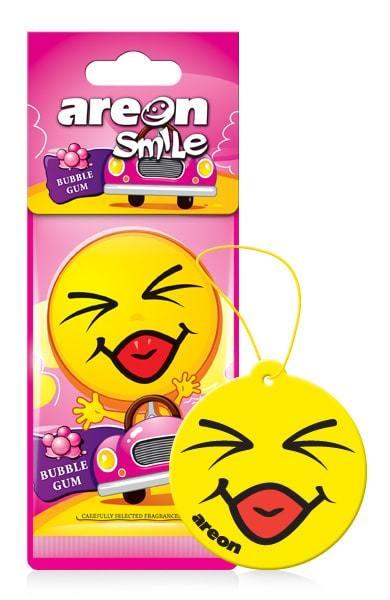 Zapach AREON SMILE DRY BUBBLE GUM (1)