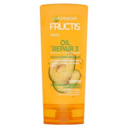 Garnier Fructis Oil Repair 3 Odżywka wzmacniająca do włosów suchych i łamliwych 200ml (1)