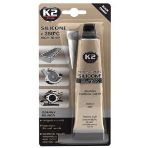 K2 Silikon czarny +350°C  85g (1)