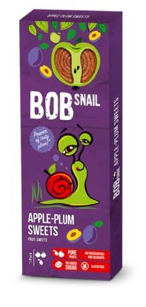 Przekąska jabłkowo-śliwkowa z owoców bez dodatku cukru 30 g (1)