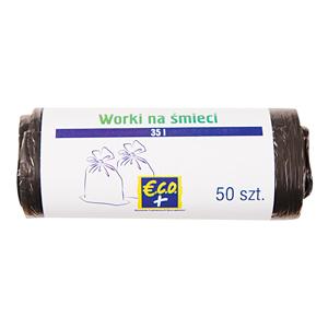 €.C.O.+  Worki na śmieci 35l (50 sztuk) (2)