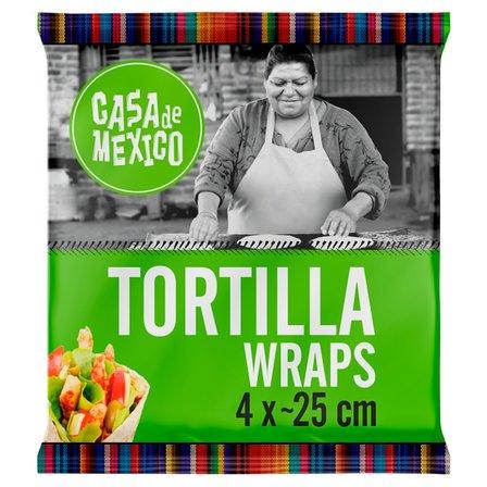 Casa de Mexico Tortilla wrap 25 cm (4 szt.) 240g (1)