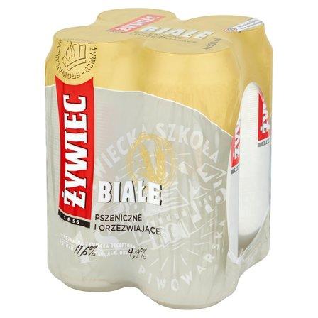 Żywiec Białe Piwo pszeniczne 4x500ml (1)