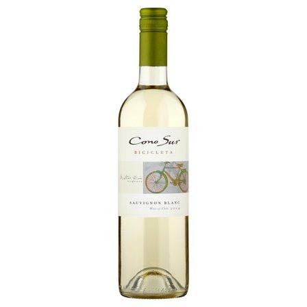 Cono Sur Bicicleta Sauvignon Blanc Wino białe wytrawne chilijskie 750ml (1)