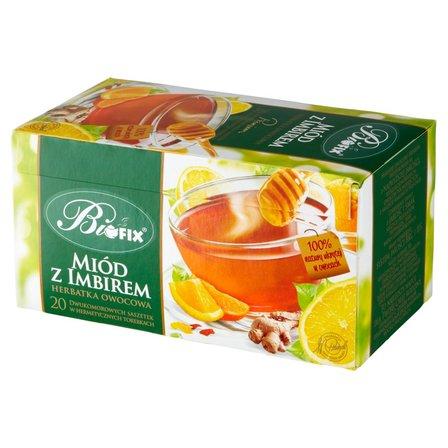 Biofix Premium miód z imbirem Herbatka owocowa 40g (20 tb) (1)