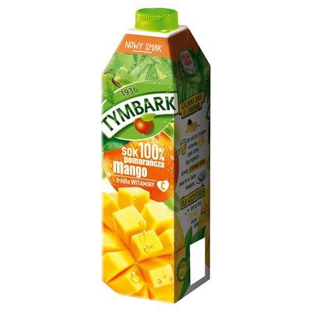 Tymbark Sok 100% pomarańcza mango 1 l (1)