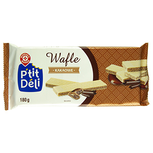 Wiodąca Marka wafle kakaowe 180g (2)