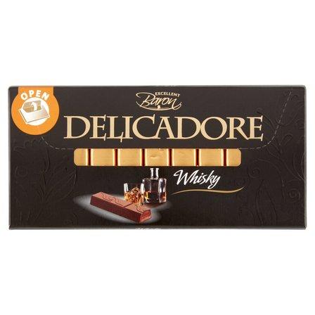 Excellent Baron Delicadore Batoniki z czekolady z nadzieniami o smaku whisky 200g (1)