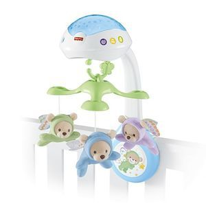 FISHER-PRICE Karuzelka z misiami 3w1 (0+) (1)