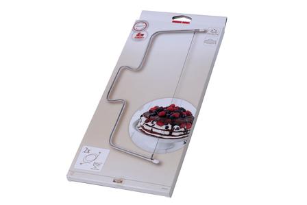 Krajalnica do ciasta + 2 druty tnące (1)