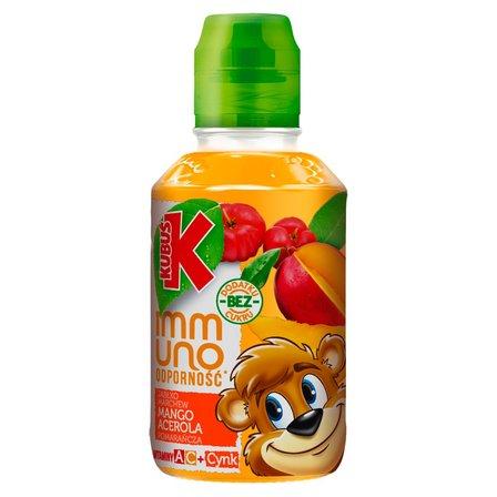 Kubuś Immuno Odporność Sok mango pomarańcza acerola 200 ml (1)