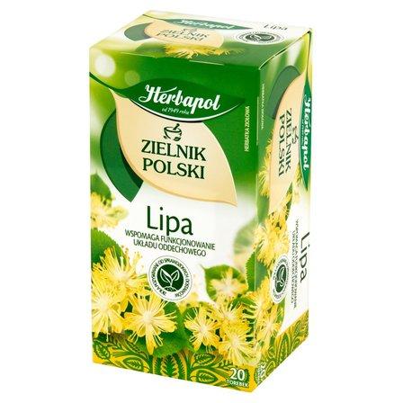 Herbapol Zielnik Polski Herbatka ziołowa lipa 30g (20 tb) (1)