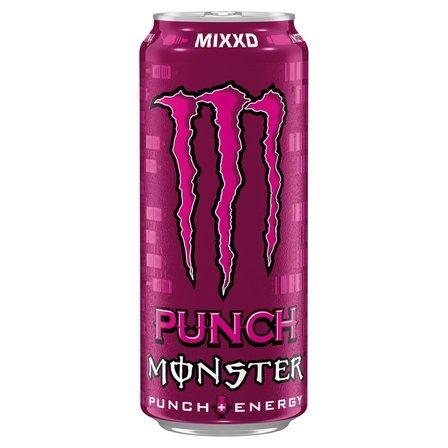 Monster Punch Mixxd Gazowany napój energetyczny 500ml (1)