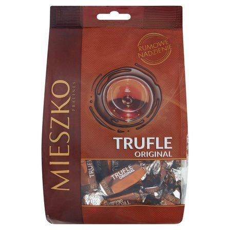 Mieszko Trufle Original Cukierki z rumem w czekoladzie 260g (1)