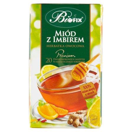 Biofix Premium miód z imbirem Herbatka owocowa 40g (20 tb) (2)