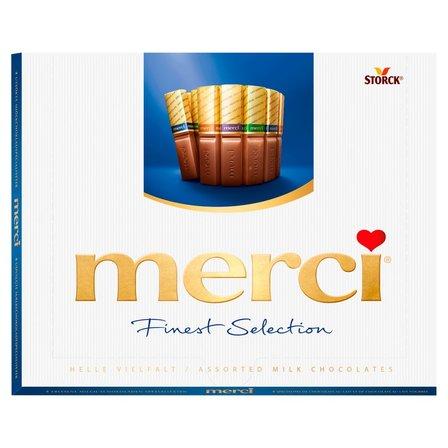 merci Finest Selection Kolekcja czekoladek mlecznych 250g (1)