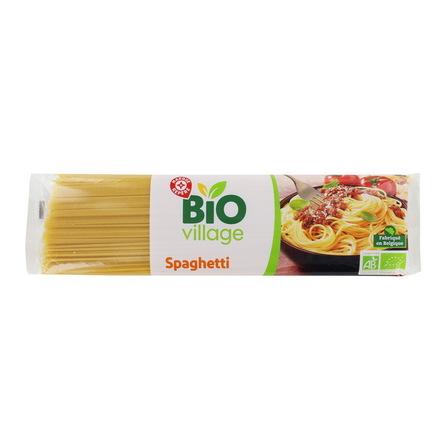 WIODĄCA MARKA Bio Village Ekologiczny makaron spaghetti 500g (1)