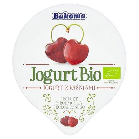 Bakoma Jogurt Bio z wiśniami 140g (2)