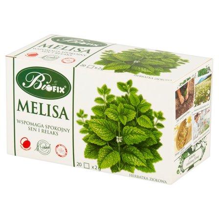 Biofix Herbatka ziołowa melisa 40g (20 tb) (1)