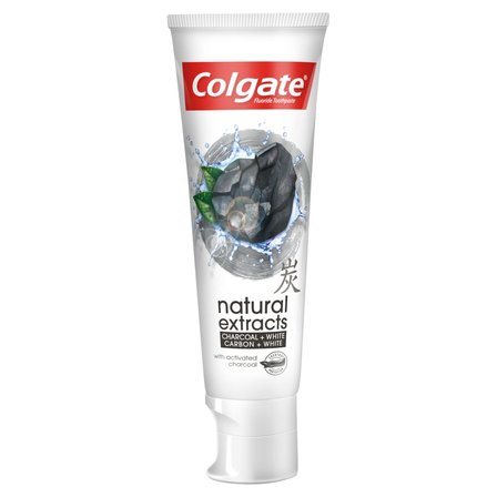 Colgate Natural Extracts Charcoal + White Pasta do zębów 75ml (1)