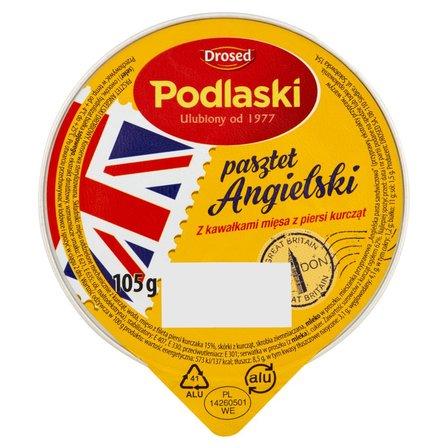 Drosed Podlaski Pasztet Angielski z kawałkami mięsa z piersi kurcząt 105g (2)