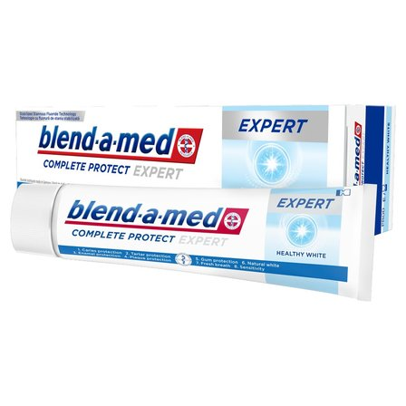 BLEND-A-MED Complete Protect Expert Healthy White Pasta do zębów (2)