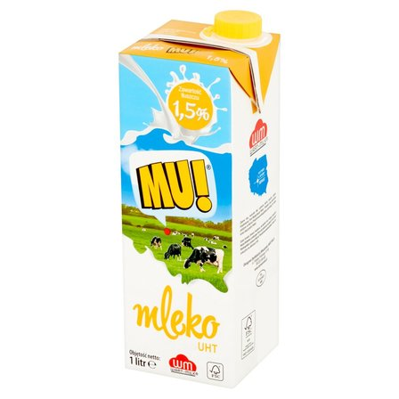 Mu! Mleko UHT 1,5% 1l (1)