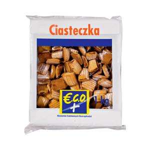 E.C.O.+ Ciasteczka opakowanie uniwersalne Ciasteczka babuni 1kg (2)