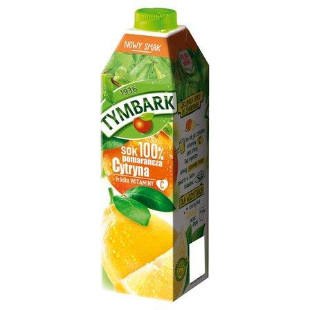 Tymbark Sok 100% pomarańcza cytryna 1 l (1)