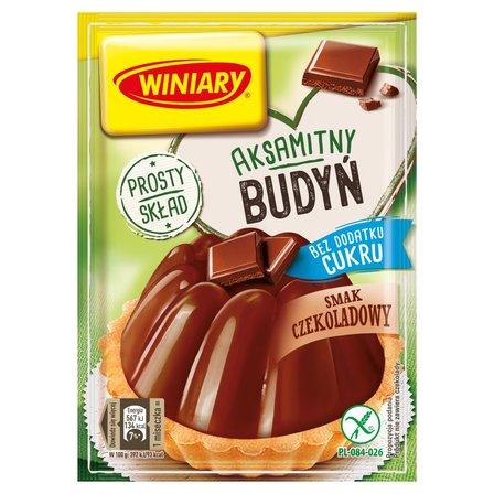 Winiary Budyń bez dodatku cukru smak czekoladowy 38g (2)