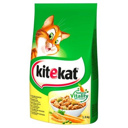 Kitekat Karma pełnoporcjowa z kurczakiem i warzywami 1,8kg (1)