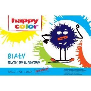 Happy Color Blok rysunkowy Biały A4/20K 1szt. (1)
