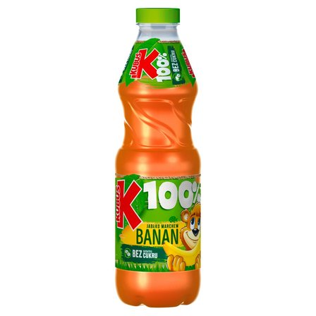 Kubuś 100% Sok jabłko marchew banan 850 ml (1)