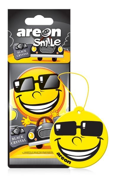 Zapach AREON SMILE DRY BLACK CRYSTAL (1)