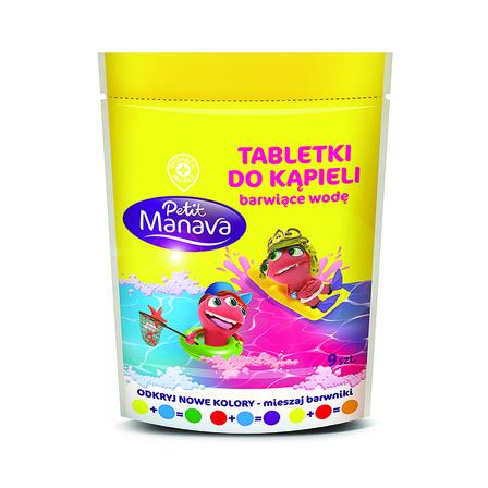 Wiodąca Marka Tabletki do kąpieli barwiące wodę 144g (9 szt) (1)