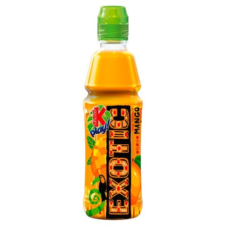 Kubuś Play! Exotic Napój jabłko pomarańcza mango cytryna 400 ml (1)