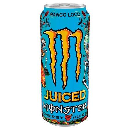 Monster Energy Mango Loco Gazowany napój energetyczny 500ml (1)